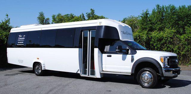 36 Passenger Shuttle Bus Exterior